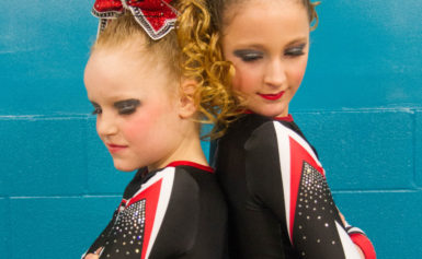 The Brantford Bolts Cheerleading team is looking for a new place to practice