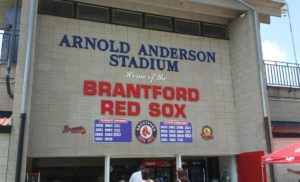 Brantford Red Sox: June 15, late night against Barrie