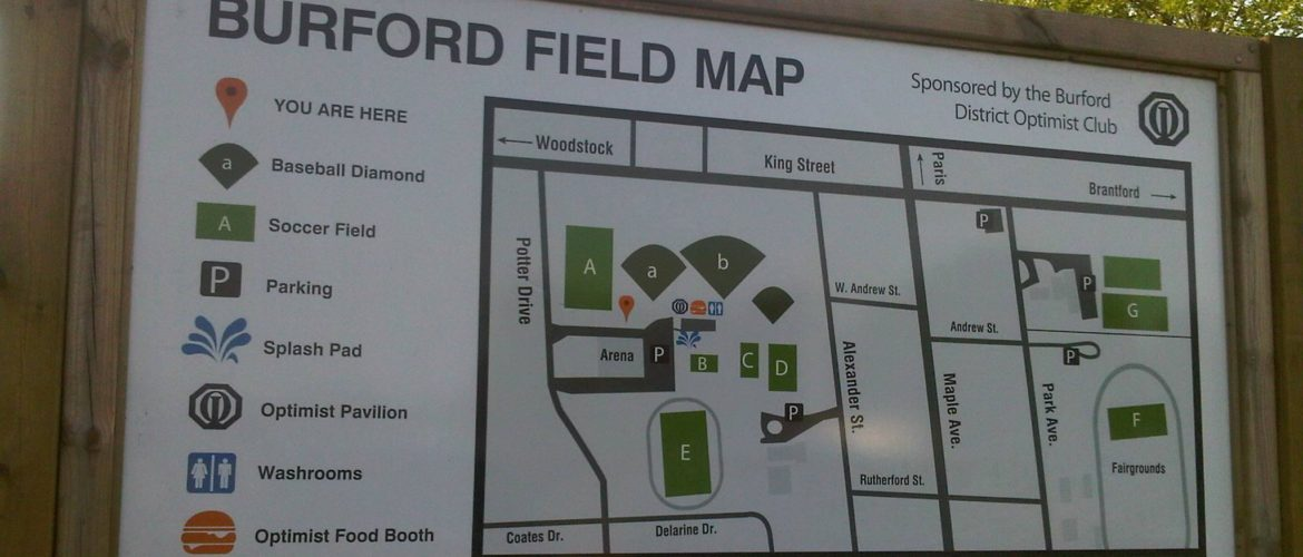 Burford Men's Slo-Pitch Playoff Tournament   First two games