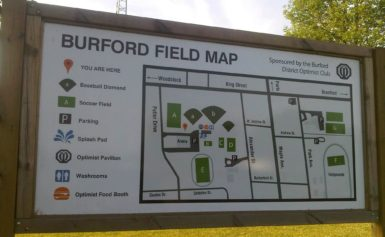 Burford Men's Slo-Pitch Playoff Tournament | First two games