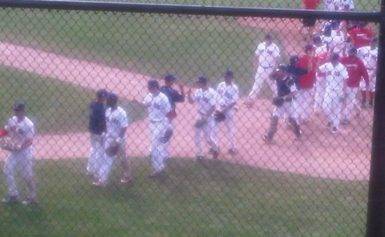 Brantford Red Sox strike a Major upset