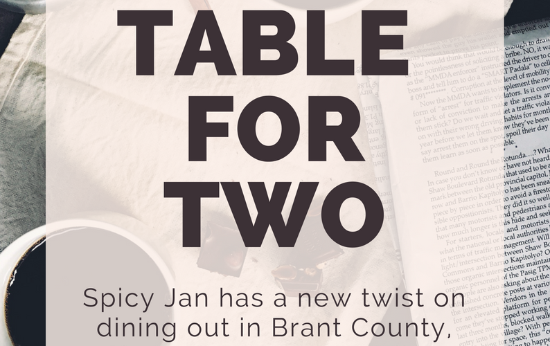 Table for Two: Coming Soon
