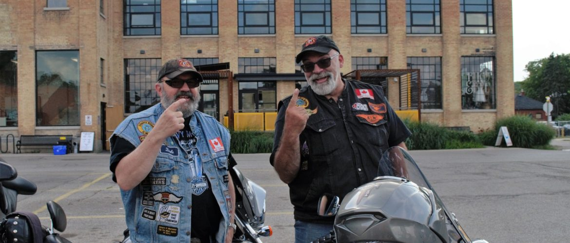 Motorcycle enthusiasts gather in Paris, Ontario