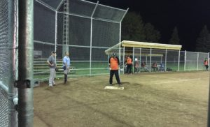 Burford Slo-Pitch: A two-tiered league