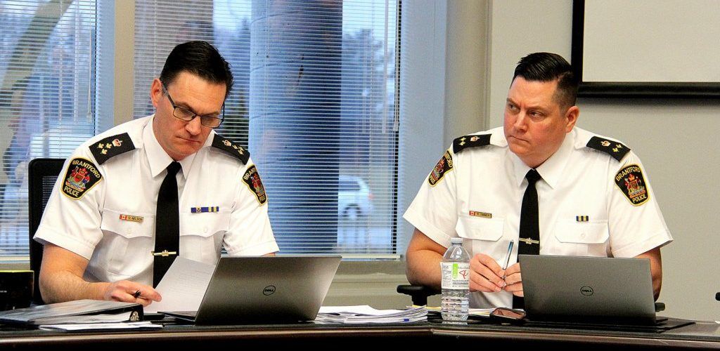 Brantford Police Services announces retirements of Chief Nelson and Deputy Chief Dinner