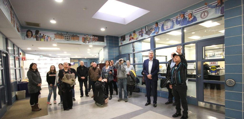 Indigenous Culture and Historical Mural Unveiled | Brantford