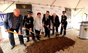 Brant OPP Detachment Ground Breaking