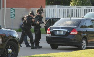 August 9 UPDATE of Armed Take-down on Colborne Street East | Four suspects arrested by Brantford Police
