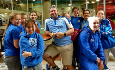 Brantford Aquatic Club swimmers proudly compete in Oakville Swim Meet